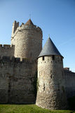 Walls And Tower Of The Medieval Castle Stock Image