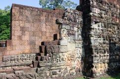 Walls of Angkor Royalty Free Stock Photography