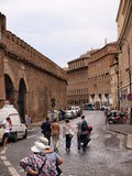 Walls around Vatican, Italy Stock Photography