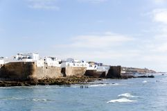 Walls of Asilah Royalty Free Stock Photography