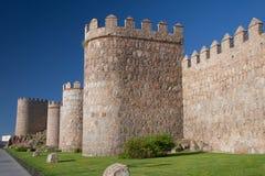 Walls of Avila Royalty Free Stock Images