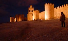 Walls avila Stock Photo