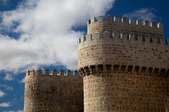 Walls of Avila Stock Photo