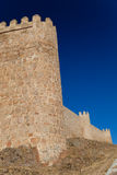 Walls of Avila Stock Images