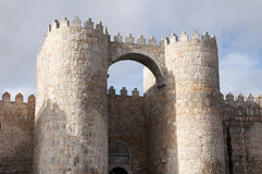 Walls of Avila Royalty Free Stock Photography