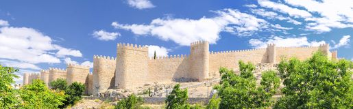 Walls of Avila. Royalty Free Stock Image