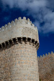 Walls of Avila Royalty Free Stock Photo