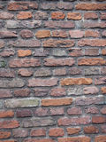 Walls background. Brick walls in Europe, beautiful and strong Royalty Free Stock Photos