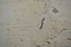 Walls. Background damp moldy walls and peeling paint Stock Image