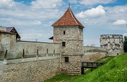 Walls of Brasov Stock Images