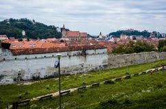 Walls of Brasov Royalty Free Stock Photos