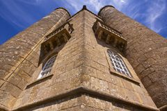 Walls of Broadway Tower Royalty Free Stock Photography
