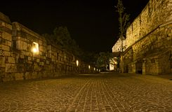 Within the walls of Buda Castle Royalty Free Stock Photography