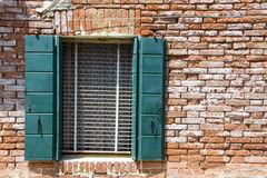 Walls of Burano, Venice Royalty Free Stock Images