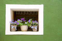 Walls of Burano, Venice Royalty Free Stock Image