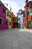 Walls of Burano, Venice Royalty Free Stock Photo