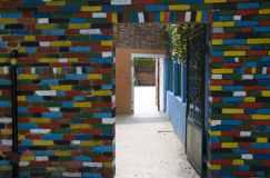Walls of Burano, Venice Royalty Free Stock Photography