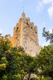 Walls of Castell Capdepera, Majorca Stock Images