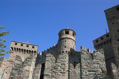 Walls of castle Royalty Free Stock Photography