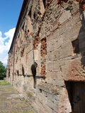 Walls of Cistercian monastery, Koprzywnica, Poland Royalty Free Stock Photos