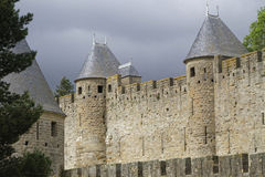 Walls of the citadel Royalty Free Stock Photo