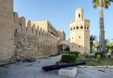 The walls of the city of Monastir in Tunisia. Stock Photos