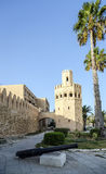 The walls of the city of Monastir in Tunisia. Stock Image