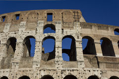Walls of Colosseum Stock Photos