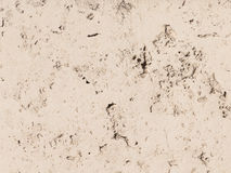 Walls of concrete travertine Stock Images