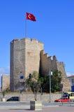 Walls of Constantinople Royalty Free Stock Photos