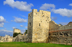 The Walls of Constantinople Royalty Free Stock Photo