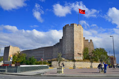 The Walls of Constantinople Royalty Free Stock Photos