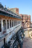 Walls and Different parts of Mehrangarh Fort, Rajasthan Stock Photos