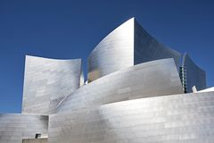 Walls Of The Disney Concert Hall Stock Image