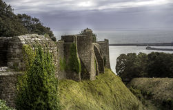 Walls of Dover Castle Royalty Free Stock Photos