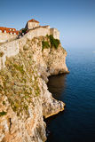 Walls of Dubrovnik, Croatia Stock Images