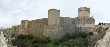 Walls of Dubrovnik Stock Photos