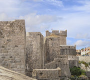 Walls of Dubrovnik, Croatia Royalty Free Stock Image