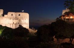 Walls of Dubrovnik, Croatia Royalty Free Stock Photography
