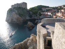 The walls of Dubrovnik, Croatia Stock Images