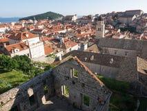 The walls of Dubrovnik, Croatia Royalty Free Stock Image