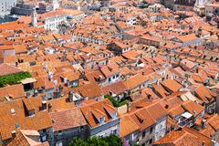 Walls of Dubrovnik Stock Images