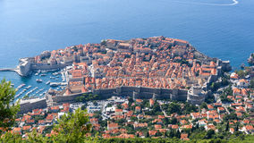 Walls of dubrovnik 2 Royalty Free Stock Photo