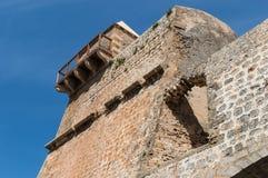 Walls of Eivissa Royalty Free Stock Images