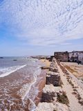 Walls of Essaouira, Morocco Royalty Free Stock Images