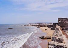 Walls of Essaouira, Morocco Stock Photo