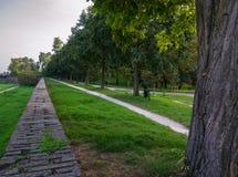 The Walls of Ferrara Royalty Free Stock Image