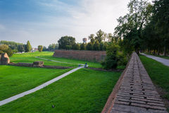 The Walls of Ferrara Stock Images