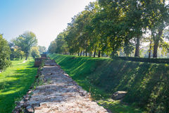 The Walls of Ferrara Royalty Free Stock Photos
