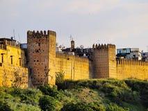 Walls of Fes, Morocco Stock Photos